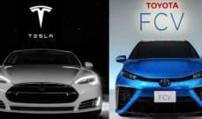 """""""تسلا"""" و""""تويوتا"""" تعيدان النظر في تعاون مشترك لإنتاج السيارات"""