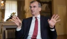 عضو بالمركزي الأوروبي: سنكشف عن إجراءات جديدة خلال هذا الشهرلتحفيز الإقتصاد