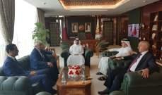 وفد من ديوان المحاسبة في قطر للبحث في سبل التعاون بين البلدين
