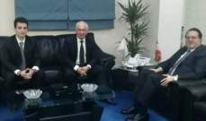 شقير إلتقى سفراء تونس وأرمينيا وكوريا الجنوبية: لتقوية العلاقات الاقتصادية على أكثر من مستوى
