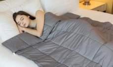 غطاء سرير يساعد على النوم ويعالج الاكتئاب والقلق