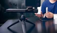 """SliderMini""شريحة كاميرا مع تقنية الحركة السلسة وتطبيق التحكم بالهاتف"