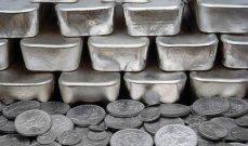 الفضة ترتفع أكثر من 10% إلى أعلى مستوى منذ منتصف حزيران