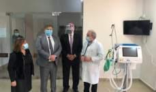 حب الله: تقنيات أجهزة التنفس اللبنانية تضاهي في مواصفاتها أهم الأجهزة في العالم