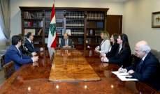 الرئيس عون: آفة الفساد يجب ان تستأصل تدريجا بالتعاون بين المواطن والدولة
