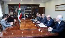 الرئيس عون: الحكومة تعمل بخطى سريعة لإنجاز الخطة الإصلاحية