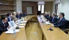فرعون: ردم أرصفه في الحوض الرابع لمرفأ بيروت مشروع استراتيجي لأنه لم يعد هناك مجال للمستوعبات