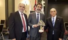 رئيسمجلس الاعمال اللبناني-البرازيلي: التواصل مع رجال اعمال برازيليين يشكل ارضية متينة للتقدم في علاقاتنا الاقتصادية الثنائية