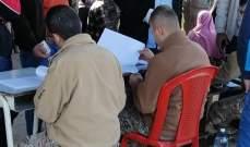الجيش وزع مساعدات مالية في ببنين العبدة