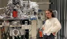 طالبة هولندية تصنع أصغر شجرة كريسماس في العالم من الذرات