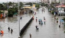 """إعصار """"كاموري"""" يجتاح الفلبين.. ويعطل السفر والعمل"""