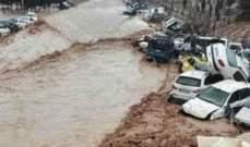 مساعدات إنسانية روسية وأرمنية لضحايا الفيضانات التي ضربت إيران