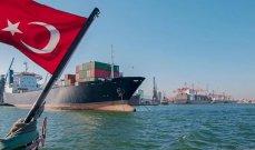 وزارة التجارة: عجز تركيا التجاري يرتفع إلى 4.309 مليار دولار في تموز