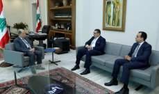 رسالة دعم من السيسي للرئيس عون تؤكد حرص مصر على استقرار لبنان