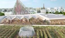 """""""ناتور أوربان""""أكبر مزرعة حضرية على سطح مبنى في قلب باريس"""