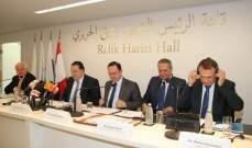 شقير خلال ملتقى الاعمال اللبناني الروسي: القطاع الخاص اللبناني مؤمن بأهمية العلاقات الاستراتيجة على المستوى الاقتصادي مع روسيا