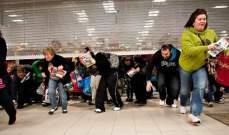 """أميركا: إنفاق المتسوقين عشية """"الجمعة السوداء"""" بلغ 2.1 مليار دولار"""