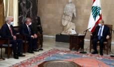 الرئيس عون شكر موسكو على دعمها للبنان ولاسيما بعد إنفجار المرفأ: يجب تقديم المساعدات الدولية للنازحين السوريين