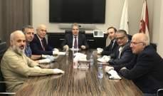 وزني يلتقي رابطة الأساتذة المتفرغين في الجامعة اللبنانية: بحث في زيادة الموازنة وتسريع المعاملات المالية