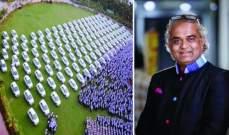 ملياردير هندي يوزع شقق سكنية و600 سيارة على موظفيه !!