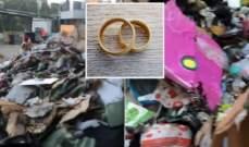 زوجان يرميان خواتمها الماسية في شاحنة القمامة... هل عثرا عليها؟