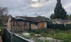800 ألف دولار ثمن منزل محترق معروض للبيع