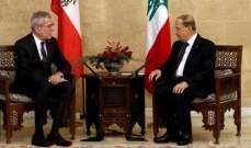 رئيس النمسا في لبنان: أتمنى للمنتدى الاقتصادي ان يعطي الزخم المطلوب لتعزيز العلاقات