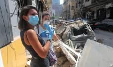 مجلس العمل اللبناني في أبوظبي يقدم 138 طن من الزجاج مساعدة للمنازل المتضررة في بيروت