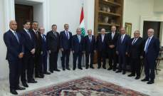 صفير بعد لقائه الرئيس عون: المصارف اللبنانية مميزة وتتمتع بسيولة مرتفعة