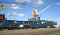 مصر: تداول 18 سفينة بضائع وحاويات بموانيء بورسعيد
