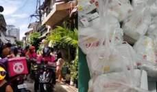 احتشاد 42 عامل توصيل طعام أمام منزل طفلة... والسبب صادم!