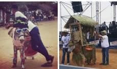 بالصور: مهرجان سنوي للحمير في كولومبيا
