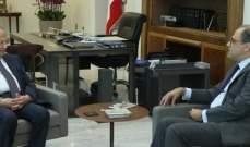 الرئيس عون عرض الواقع الاقتصادي والمالي مع أزعور