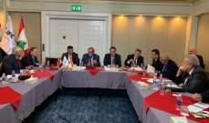 شقير بصدد تشكيل هيئة لتنمية العلاقات الاقتصادية اللبنانية العراقية في غرفة بيروت وجبل لبنان