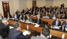 اللجان النيابية المشتركة أقرت اقتراح قانون التجارة البرية