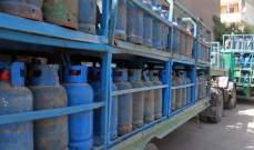 نقابة العاملين في قطاع الغاز تطالب برفع الجعالة عن كل قارورة إلى 3800 ليرة بدلاً من 1750