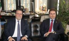 شقير خلال إستقباله وزير خارجية الباراغواي: التجارة تشكّل بوابة أساسية لزيادة التعاون الاقتصادي بين البلدين