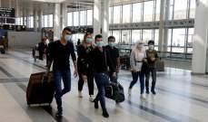 تراجع حركة الركاب في مطار بيروت خلال الربع الأول من 2021