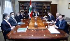 """الرئيس عون يترأس اجتماعاً مالياً لاستكمال البحث في ملف المفاوضات مع """"صندوق النقد"""""""