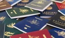 سنغافورة واليابان تحتلان قائمة أقوى جوازات السفر في العالم خلال 2019