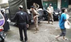 الجيش وزع خبزا وأكياس علف على مربي المواشي في الشمال