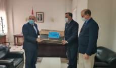 الهند تتبرع للبنان بمعدات مكتبية