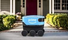 """""""أمازون"""" طرحت روبوتات ذاتية القيادة لتوصيل البضائع في جنوب كاليفورنيا"""