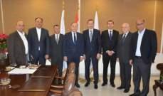 السفير الروماني زار غرفة طرابلس: لإعادة التوازن الى الميزان التجاري