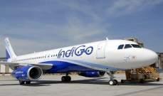 """Indigo"" الهندية ستواصل شراء المزيد من الطائرات"
