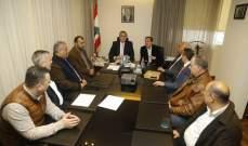 الوزيران حب الله وحواط بحثا في سبل تطوير القطاع الصناعي في عكار والشمال