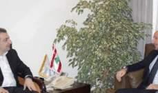 أبو فاعور بعد لقائه جريصاتي: لن يكون هناك تراخيص عشوائية لا تأخذ بالاعتبار دراسة الاثر البيئي