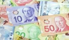 الدولار الكندي يرتفع امام نظيره الاميركي