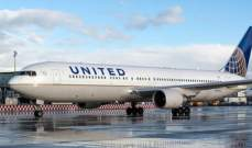 """""""يونايتد إيرلاينز"""" تشتري 4 طائرات """"بوينغ""""جديدة من طراز """"787-9"""""""