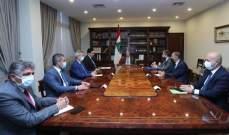الرئيس عون ترأس إجتماعاً مالياً للبحث في السُبل الكفيلة بمواصلة الدعم